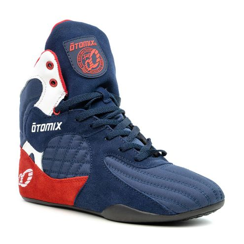 Weightlifting Shoes Red, White & Blue Stingray