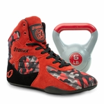 Stingray Weightlifting Bodybuilding Fitness Gym Shoe