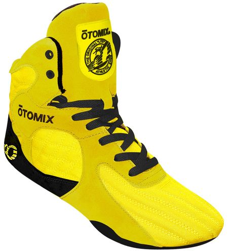 YELLOW Bodybuilding MMA Shoes FINAL SALE
