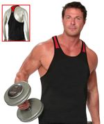 Weightlifting Two-Tone Blank Muscle Tank