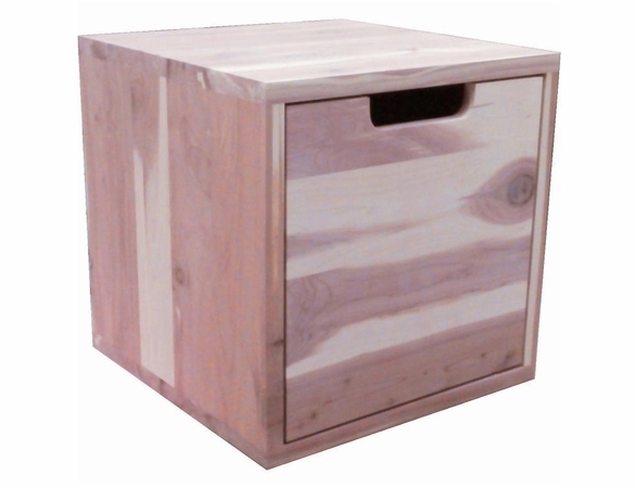 "1 Cedar Drawer:  Stackable Closet Organizer Unit - 14"" Wide - Exclusive Item"