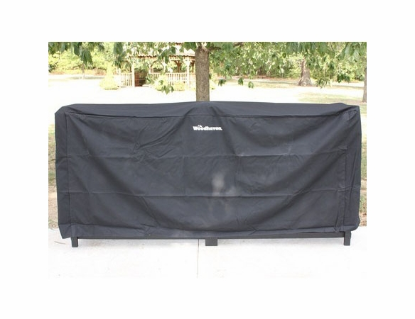 10' Woodhaven Firewood Rack With Cover - 1/2 Cord PLUS