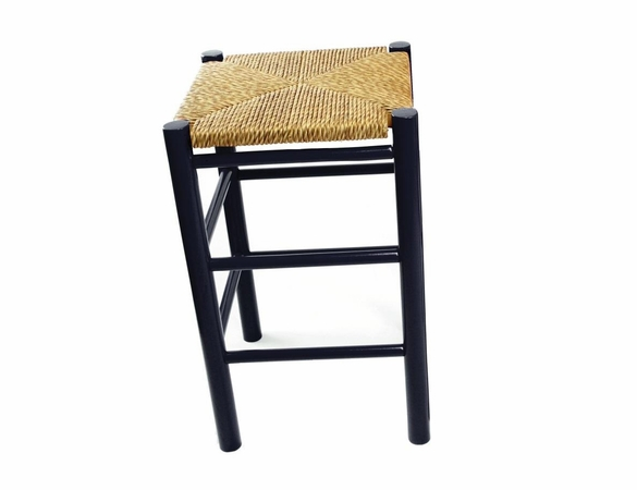 "24"" Backless Counter Stool with Woven Seat – Color Options"