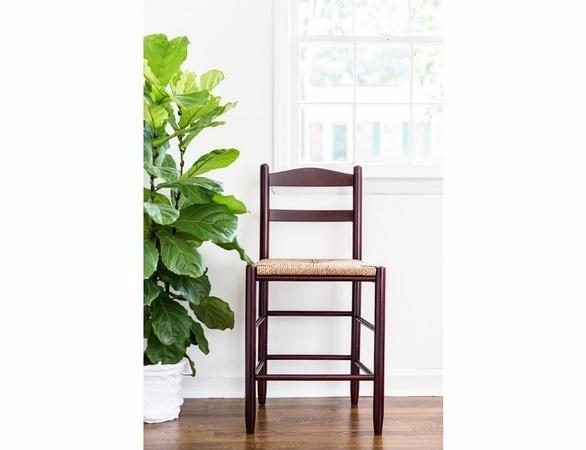 "24"" Counter Height Stool with Woven Seat – Color Options"