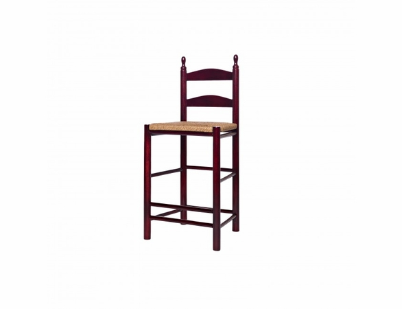 "24"" Curved Ladderback Counter Height Stool – Color Options"