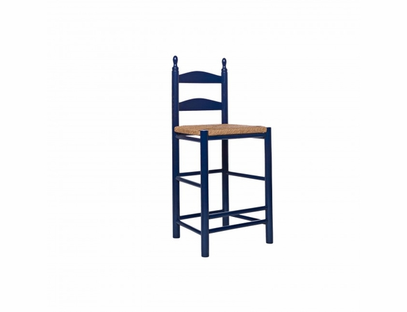 """24"""" Curved Ladderback Counter Height Stool – Color Options"""