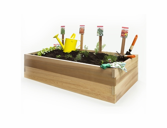 "24"" Raised Garden Earth Box Kit - Multiple Lengths & Heights"