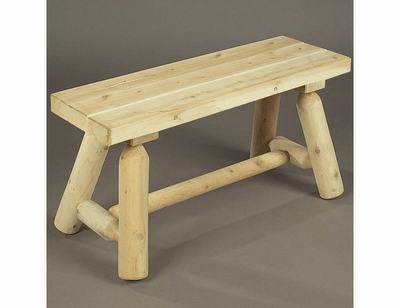3 Foot Log Bench - Not Currently Available