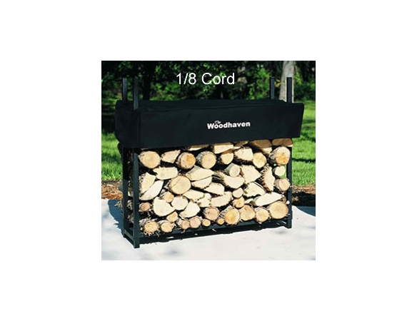 3' Woodhaven Firewood Rack With Cover - 1/8 Cord