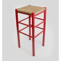 "30"" Backless Barstool with Woven Seat – Color Options"