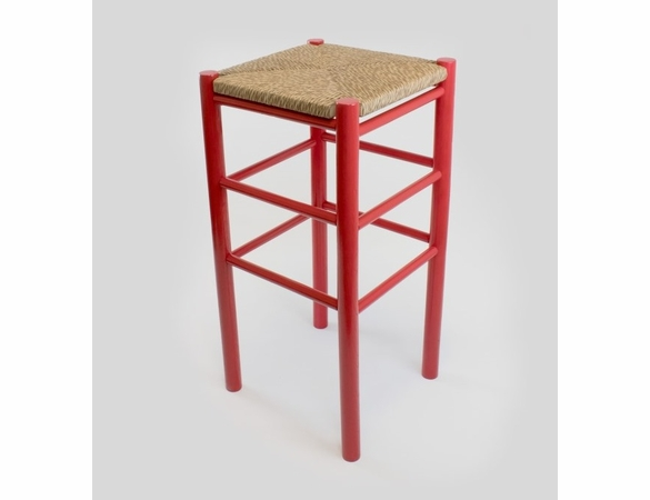 """30"""" Backless Barstool with Woven Seat – Color Options"""