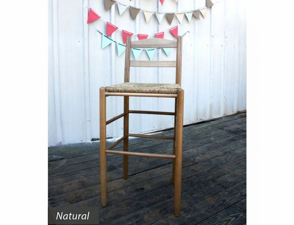 "30"" Barstool with Woven Seat – Color Options"