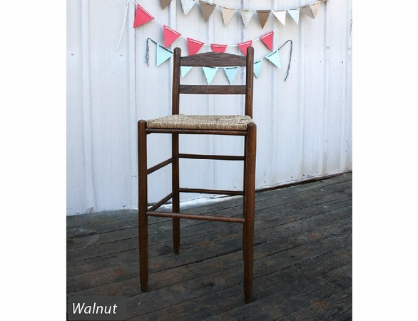 """30"""" Barstool with Woven Seat – Color Options"""