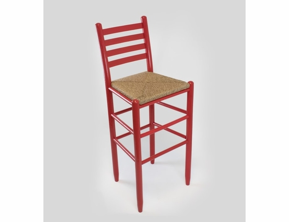 """30"""" Dark Barstool with Woven Seat – Color Options"""