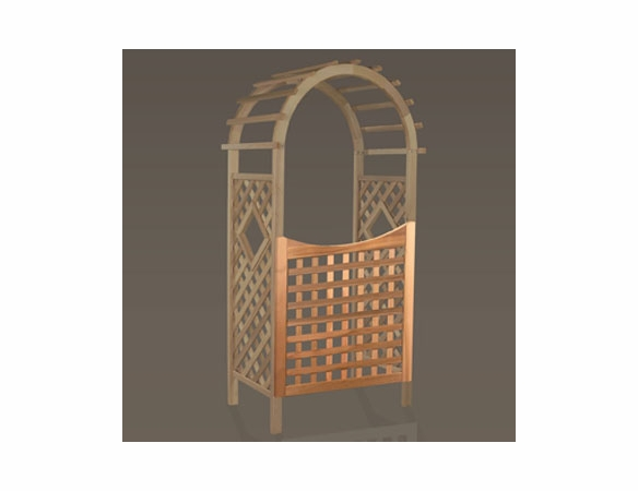 "35"" Cedar Garden Gate for 36"" Arch - Not Currently Available"