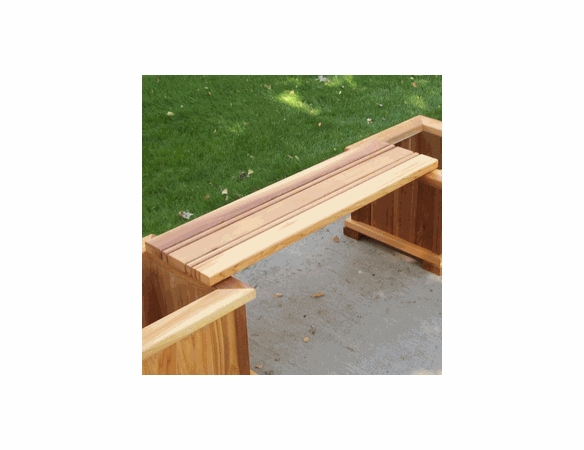 4' Villa Planter Bench Only