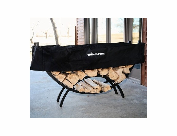 5' Woodhaven Crescent Shaped Firewood Rack - 1/8 Cord