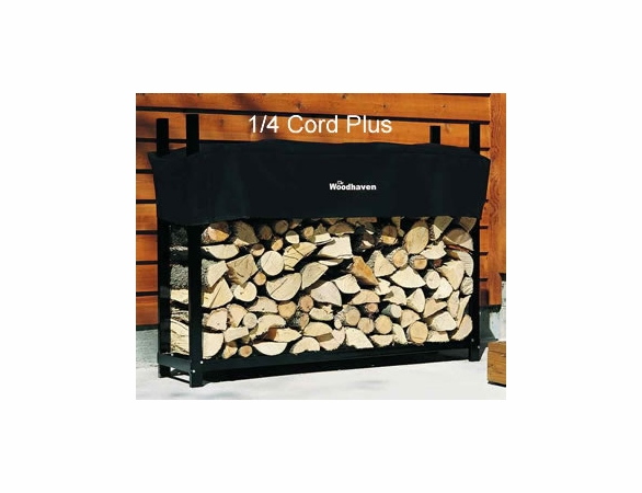 5' Woodhaven Firewood Rack With Cover - 1/4 Cord PLUS