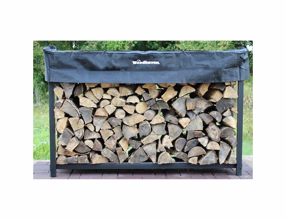 6' Woodhaven Firewood Rack With Cover - 1/3 Cord