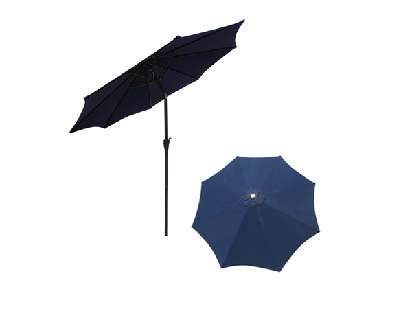 9' Market Umbrella - Tilt & Crank - Multiple Colors Available