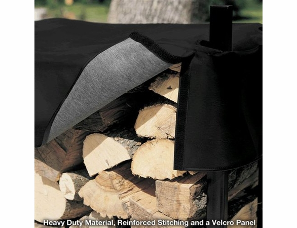 9' Woodhaven Courtyard Firewood Rack - 1/2 Cord - Out of Stock 'til Aug