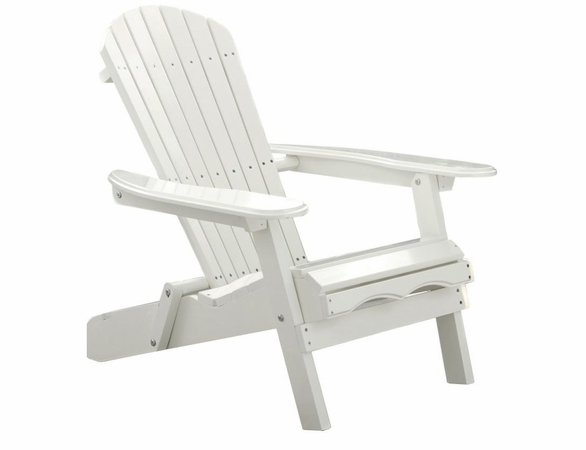 Acacia Hardwood Simple Adirondack Chair