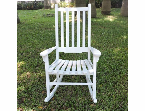 Acacia Hardwood Traditional Rocking Chair