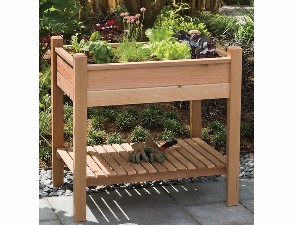 "Arboria 33"" EZ Plant Cedar Elevated Garden Planter - Not Currently Available"