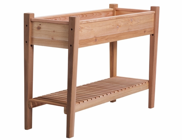 "Arboria 45"" EZ Plant Cedar Elevated Garden Planter - Not Currently Available"