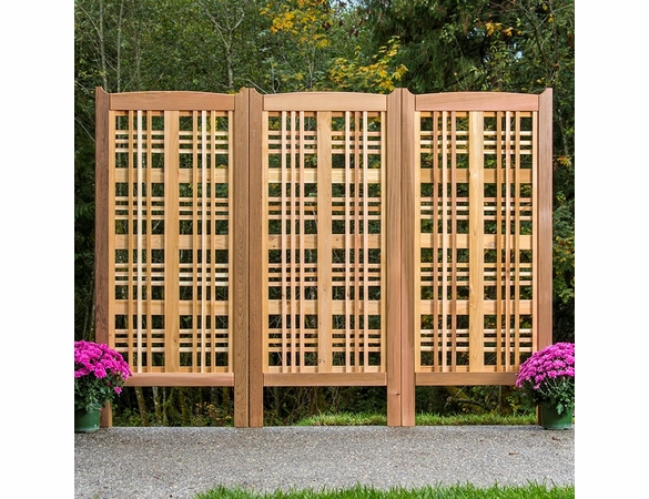 Arboria Claremont Cedar Landscape Screen - Set of 3 - Not Currently Available