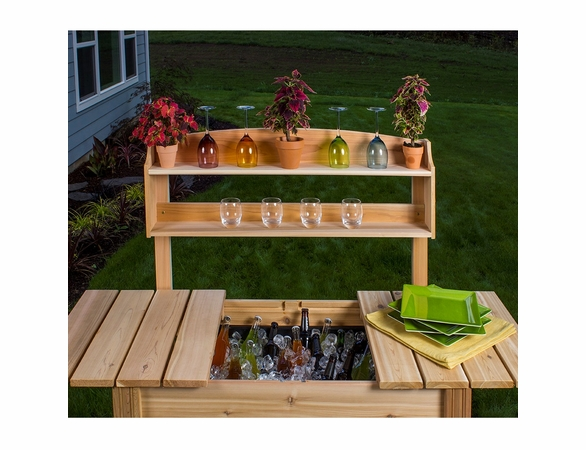 Arboria Classic Cedar Potting Bench