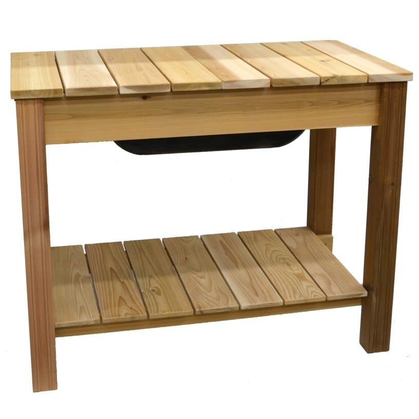 Pleasant Arboria Classic Cedar Potting Table Not Currently Available Download Free Architecture Designs Scobabritishbridgeorg