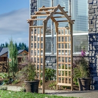 Arboria Gable Cedar Arbor - Not Currently Available