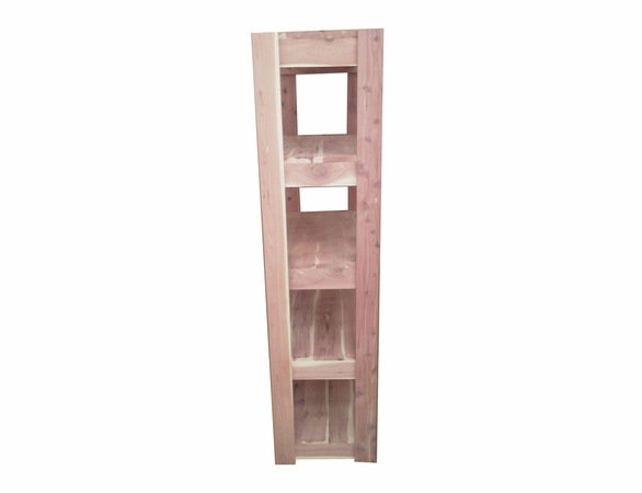 Aromatic Cedar Wood Closet Shelving: 5 Tier - Exclusive Item