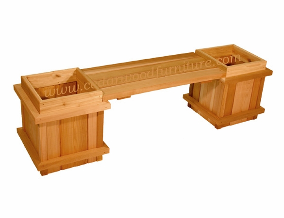 Bench Planter w/ Free Shipping (3 & 5pc. Option)