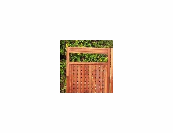 Best Redwood Deluxe Privacy Screen