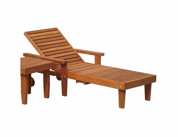 Best Redwood Single Summer Lounge Chair