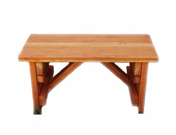Best Redwood Solid Picnic Table Bench