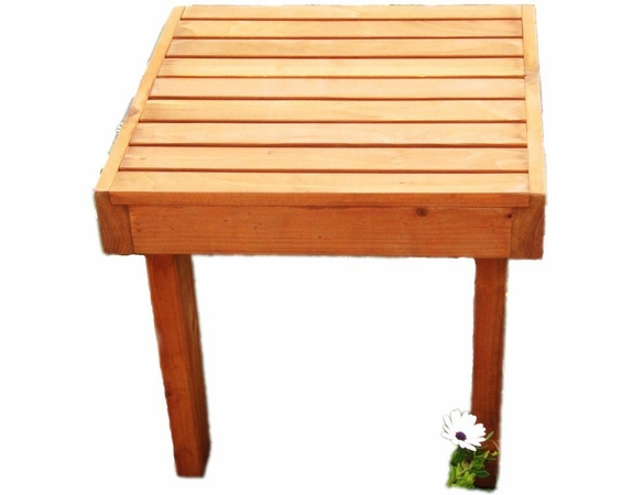 Best Redwood Summer Side Table