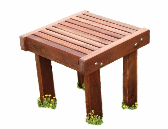 Best Redwood Sun Side Table - Currently Unavailable