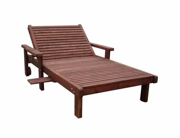 Best Redwood Wide Sun Lounge Chair