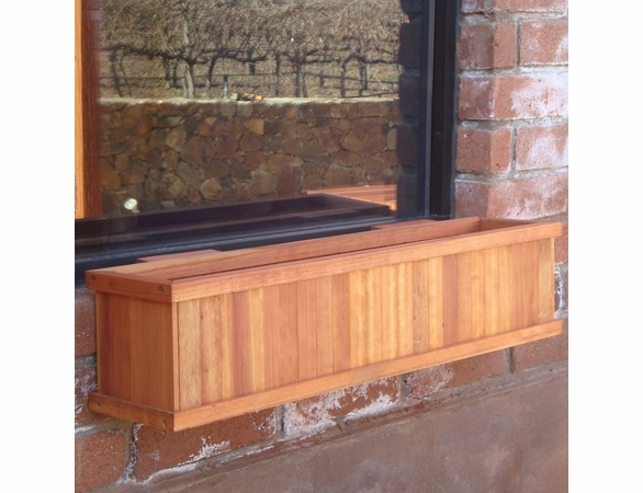 Best Redwood Window Planter