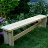 Cedar Traditional Bench with Slant Brace - Extra May Only Discount