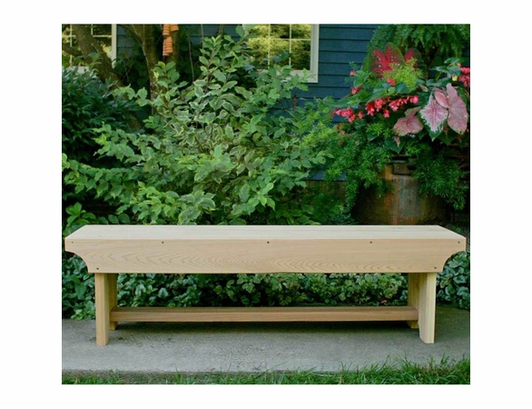 Cedar Traditional Heavy Duty Bench