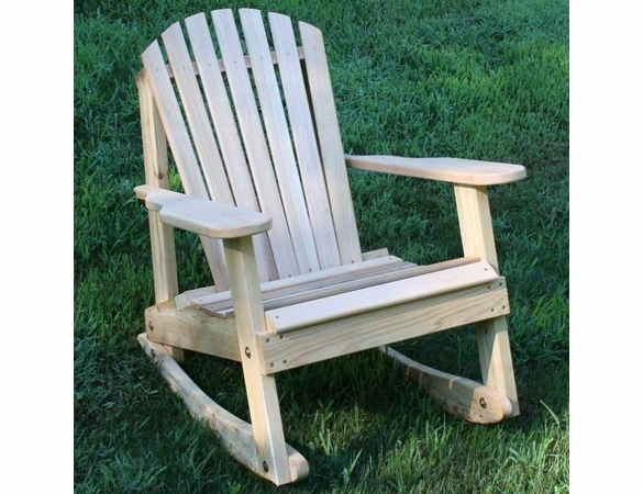 Cedar American Forest Adirondack Rocker - Extra May Only Discount
