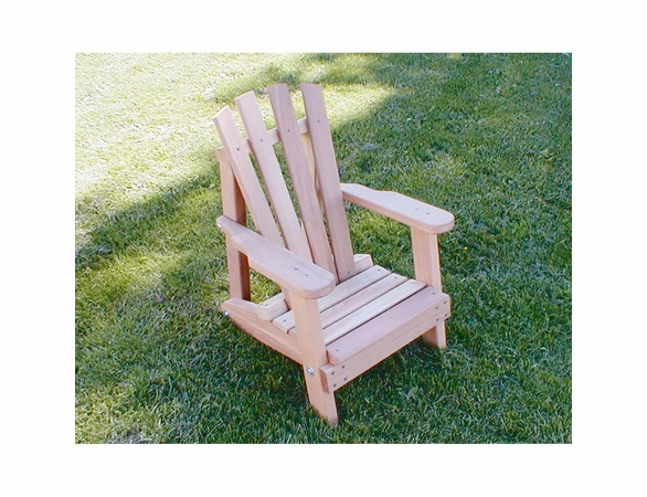 Cedar Child Size Wide Slat Adirondack Chair - Extra May Only Discount