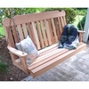 Cedar Classic Porch Swing - Extra May Only Discount