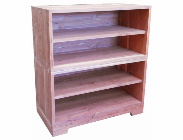 Cedar Closet 3 Piece Shelf Group - Exclusive Item