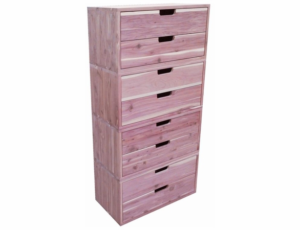 Cedar Closet 4 Piece Closet System Group - Exclusive Item - Not Currently Available