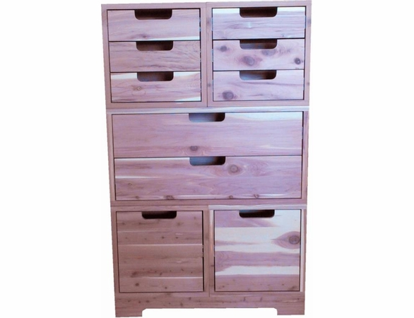 Cedar Closet 6 Piece Stackable Drawer Group - Exclusive Item